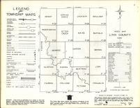Index Map, Linn County 1963